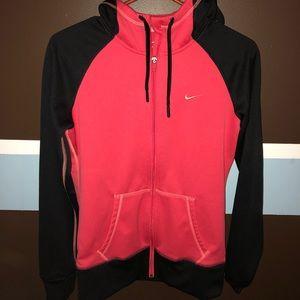 Nike fleece zip up